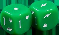 green-dice