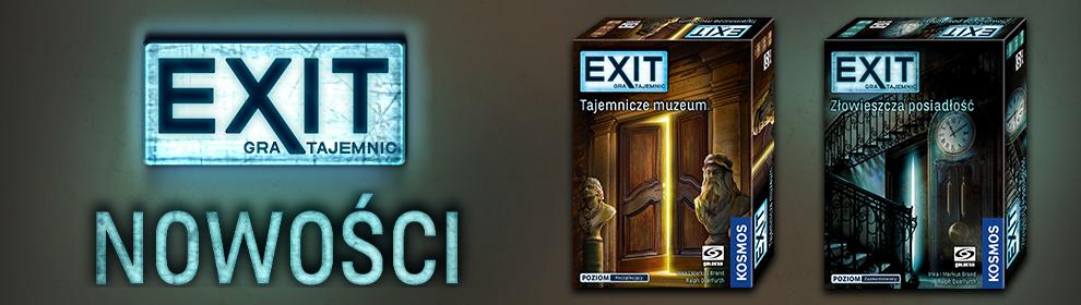 Exit  Tajemnicze muzeum złowieszcza posiadłość